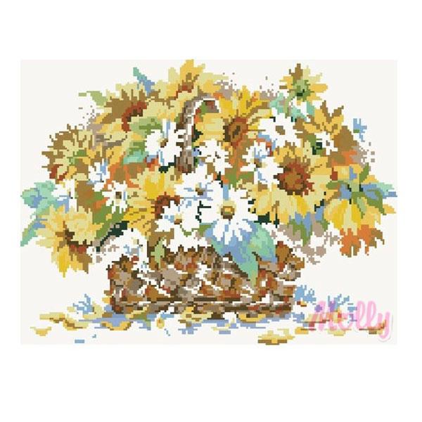 Набор ДТ Картина мозаикой Краски лета GZ046 купить оптом и в розницу