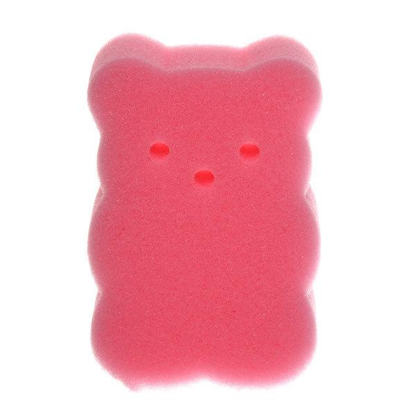 Губка для тела банная поролоновая ″Мишутка″ классическая, фигурная 13,5*8см купить оптом и в розницу