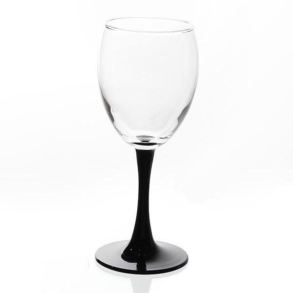 Набор фужеров для красного вина 4шт 240мл ″Империал Плюс Блэк″ (1/8) 44799БлэкБор купить оптом и в розницу