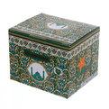 Молочник фарфоровый 340 мл ″Мусульманская деколь″ зеленый купить оптом и в розницу