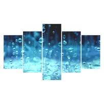 Картина модульная полиптих 75*130 Капли диз.1 17-02 купить оптом и в розницу