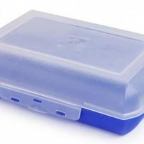 Ланч-бокс 0,7 л (фиолетово-синий) купить оптом и в розницу