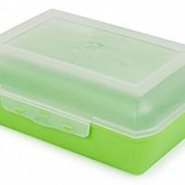 Ланч-бокс 1,1 л (салатный) купить оптом и в розницу