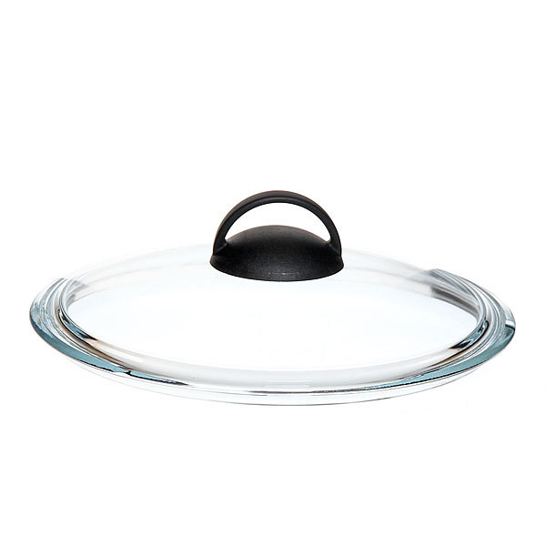 Крышка стеклянная 22 см, термостойкая HELPER купить оптом и в розницу
