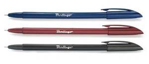 Ручка шар.Berlingo METALLIC 0,7мм синяя купить оптом и в розницу