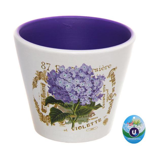 Кашпо для цветов садовое ″Роза″ 11,5х10см 13018-4 купить оптом и в розницу