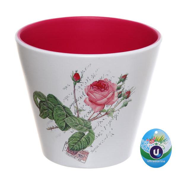 Кашпо для цветов садовое ″Фиалка″ 16х14см 13018-2 купить оптом и в розницу