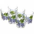 Набор стаканов 6шт 250мл Ода ″Виноград″ низкие купить оптом и в розницу