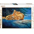 Пазл 560 Леопарды 78075 Степ /12/ купить оптом и в розницу