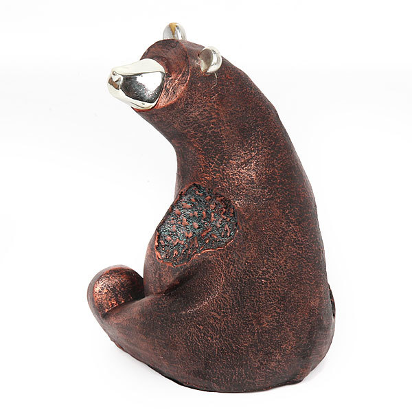 Фигурка из полистоуна ″Медведь сидит″ купить оптом и в розницу