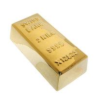 Копилка ″Слиток Золота 2кг″ 19*5,5см JSP521 купить оптом и в розницу