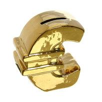 Копилка ″Евро Золотое″ 9,5*8см купить оптом и в розницу