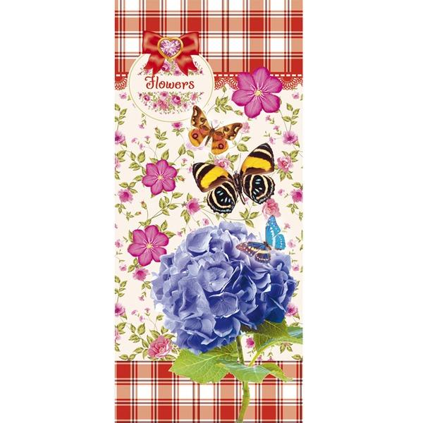 Пенал 1-секц. Мир цветов и бабочек ПН-6078 купить оптом и в розницу