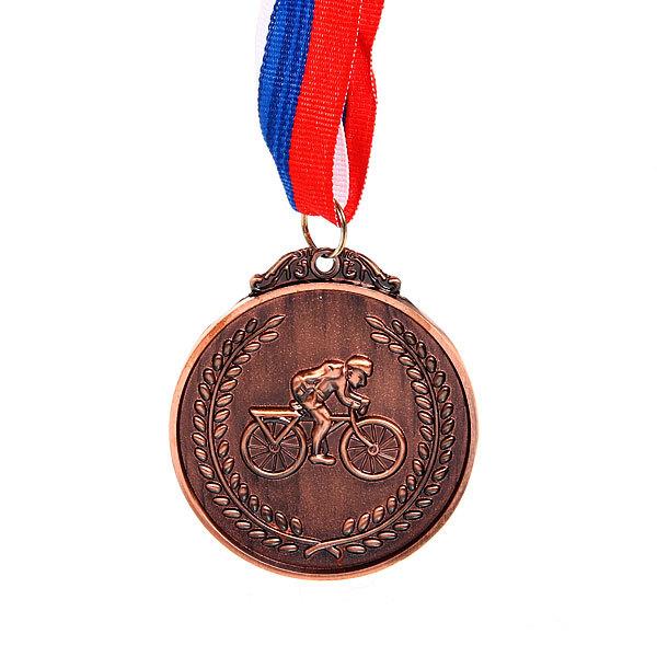 Медаль ″Велоспорт″ - 3 место (6,5см) купить оптом и в розницу