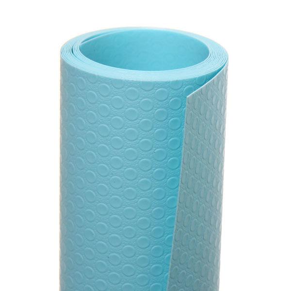 Коврик для кухонных ящиков в рулоне 45*150см голубой матовый купить оптом и в розницу