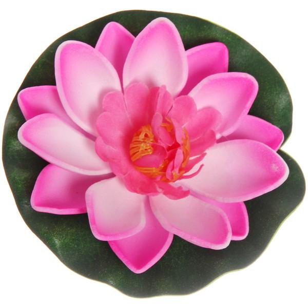 Растение водоплавающее ″Лотос″ d-10см розовый купить оптом и в розницу