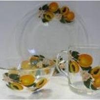 Набор посуды для завтрака ″Абрикосовая ветка″ D10327/1+D10341/1+D1335/1 купить оптом и в розницу