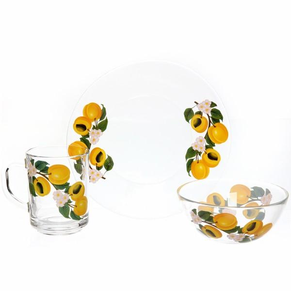 Набор посуды для завтрака ″Абрикосовая ветка″ 2 купить оптом и в розницу