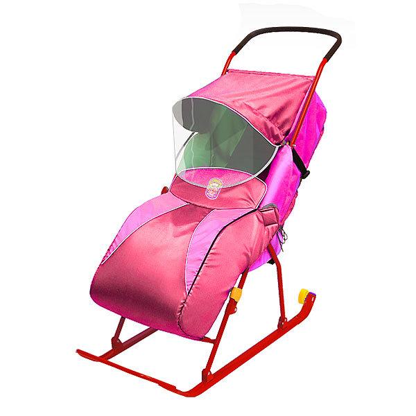 Санки-коляска ″Тимка 2 Комфорт″ розовый Т2К купить оптом и в розницу