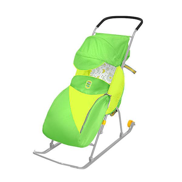 Санки-коляска ″Тимка 2 Комфорт″ зеленый Т2К купить оптом и в розницу