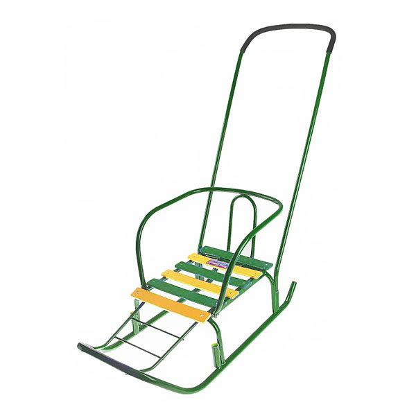 Санки Ветерок 3 зеленый В3 купить оптом и в розницу