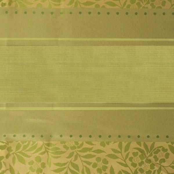 Штора ″Флора″ зеленая 140*275см/24/4 65007 купить оптом и в розницу