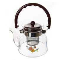 Чайник заварочный стеклянный 800 мл 1013-800 купить оптом и в розницу