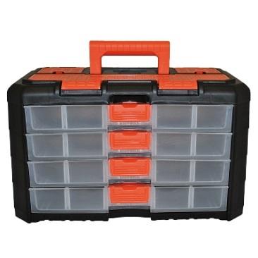 Сет для мелочей GRAND 4 секции черный/оранжевый *6 купить оптом и в розницу