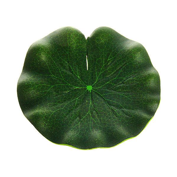 Растение водоплавающее ″ЛИСТ Лотоса″ d-10см купить оптом и в розницу