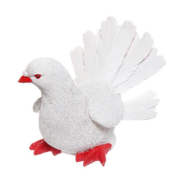 Садовая фигура ″Белый голубь″, полистоун, 24*20 см купить оптом и в розницу