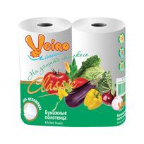 Полотенца бумажные 2сл. ″Linia Veiro″ Классик 52л (5П22) купить оптом и в розницу