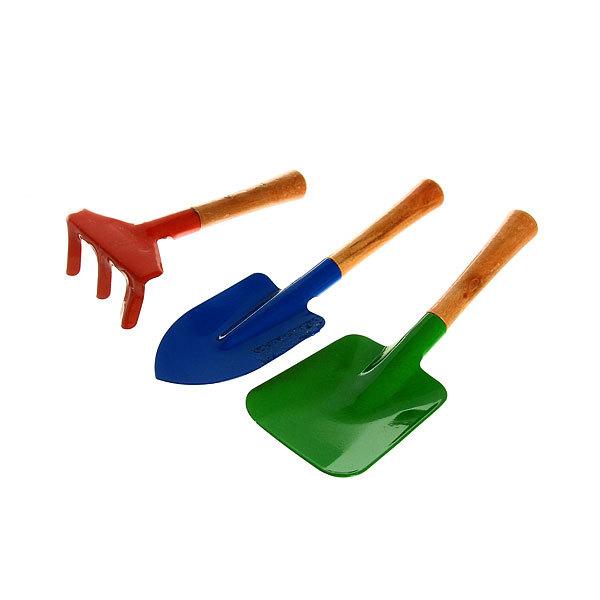 Набор садовый совок/лопатка/грабельки YM-306 купить оптом и в розницу