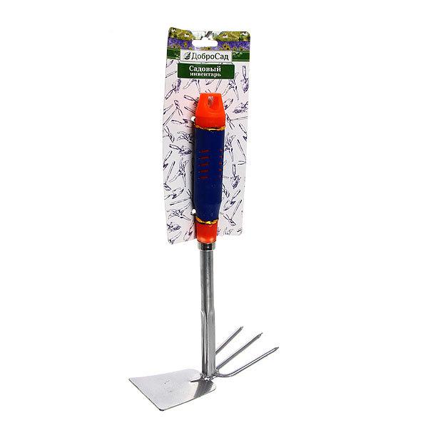 Мотыжка комбинированная 33см пластиковая ручка YM-303 купить оптом и в розницу