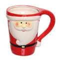 Кружка керамическая 250мл ″Дед Мороз″ купить оптом и в розницу