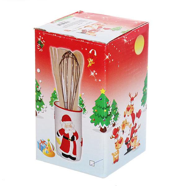 Подставка под лопатки керамическая ″Дед Мороз″ купить оптом и в розницу