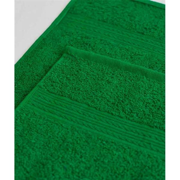 Махровое полотенце 100*180см Ярко-зеленое купить оптом и в розницу