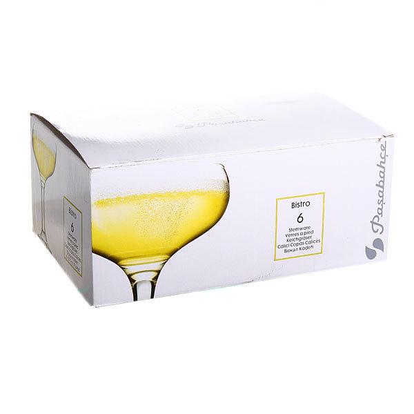 Набор фужеров для шампанского 6шт 260мл ″Бистро″ купить оптом и в розницу