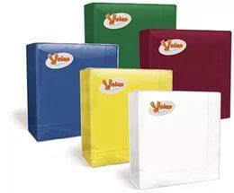 Салфетки бумажные 3сл. 20л ″Bouquet Solid Colour″ шоколад купить оптом и в розницу