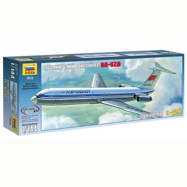 Сб.модель 7013ПН Самолет Ил-62М купить оптом и в розницу