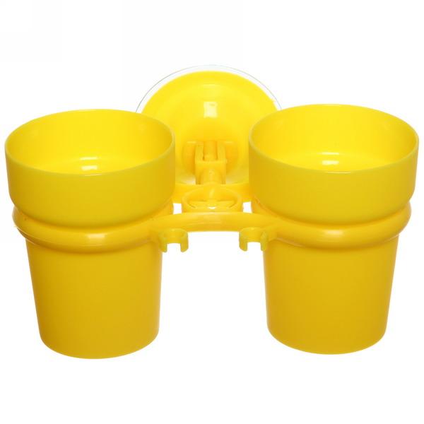 Стаканчики для зубных щеток на присоске Y807-Y купить оптом и в розницу
