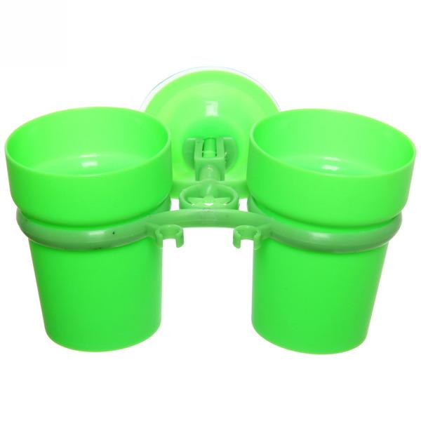 Стаканчики для зубных щеток на присоске Y807-G купить оптом и в розницу