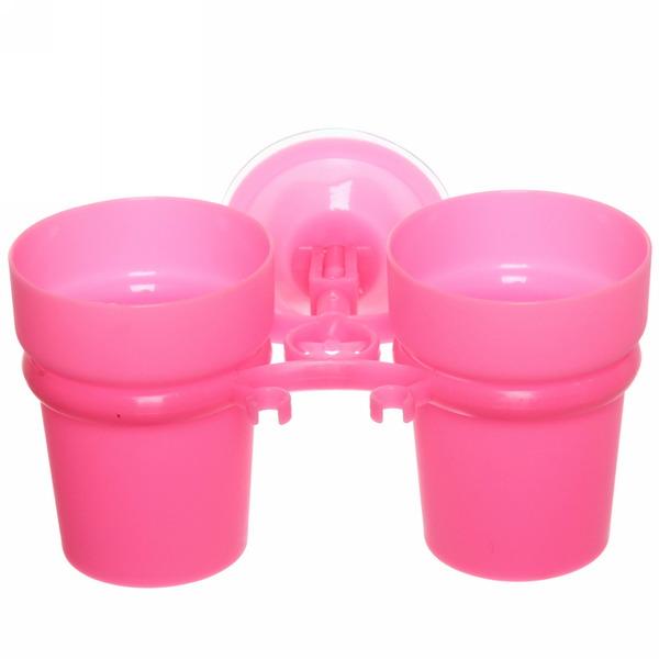 Стаканчики для зубных щеток на присоске Y807-P купить оптом и в розницу
