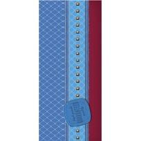 Пенал 1-секц. Красно-голубой дизайн ПН-6076 купить оптом и в розницу