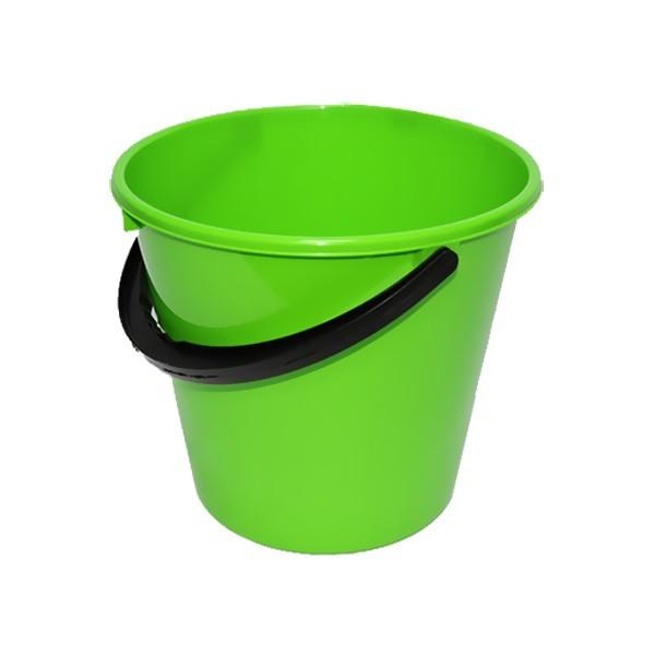 Ведро 10л Примула зеленое купить оптом и в розницу