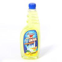 Средство для мытья стекол ЗОЛУШКА Чистые окна Лимон сменный блок 500мл Ч21-4 купить оптом и в розницу