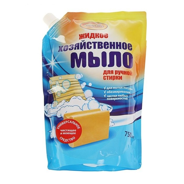 Жидкое хозяйственное мыло для ручной стирки ″Vestar″, 750 мл купить оптом и в розницу