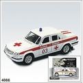Модель ГАЗ 31105 Скор. пом. 4066 1:43 купить оптом и в розницу