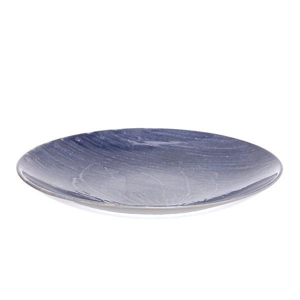 Тарелка керамическая ″Черное и белое″ 27см купить оптом и в розницу