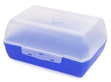 Ланч-бокс 1,5 л (фиолетово-синий)  *16 купить оптом и в розницу