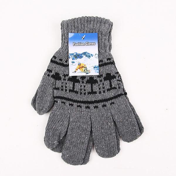 Перчатки мужские ″Ассорти″, цвет черный, рисунок в ассортименте h-23см купить оптом и в розницу